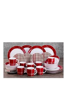 highland-tartan-32-piece-dinner-set