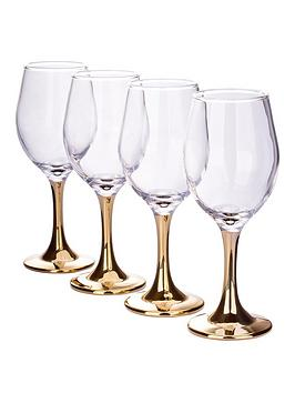 gold-stem-wine-glasses-ndash-set-of-4