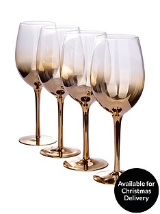 waterside-gold-ombre-wine-glasses-ndash-set-of-4