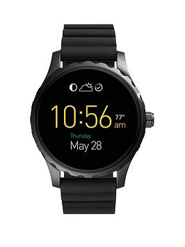 fossil-fossil-q-marshall-display-dial-black-silicone-strap-smart-watch
