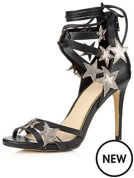 miss-selfridge-star-detail-sandal