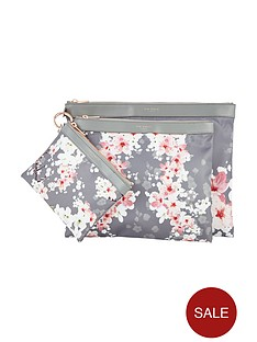ted-baker-fit-to-a-t-oriental-blossom-nylon-trio-pouch-set