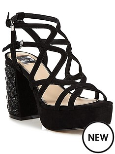 miss-selfridge-platform-strappy-jewel-sandal