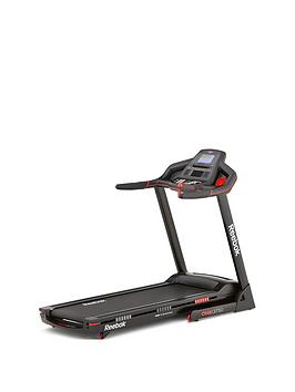 Reebok Gt50 One Series Treadmill  Black With Red Trim