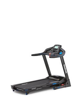 Reebok Gt60 One Series Treadmill  Black With Blue Trim