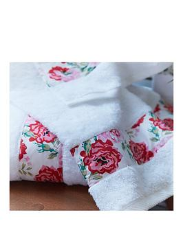 Cath Kidston Antique Rose Band Hand Towel