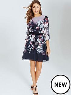 little-mistress-autumn-floral-print-mini-dress