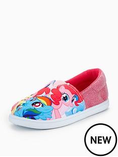 my-little-pony-my-little-pony-glitter-canvas-shoe