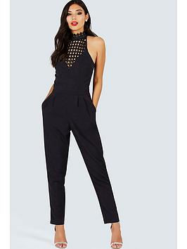 girls-on-film-girls-on-film-black-high-neck-crochet-jumpsuit