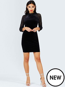 girls-on-film-girls-on-film-black-velvet-and-lace-bodycon-dress