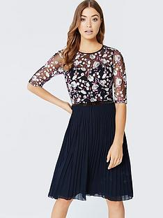 little-mistress-little-mistress-floral-embroidered-midi-dress-with-pleats