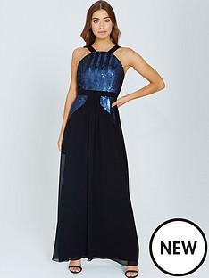 little-mistress-little-mistress-black-and-navy-sequin-maxi-dress