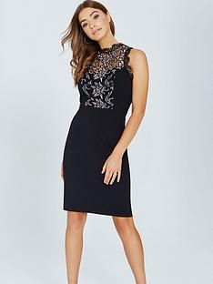 little-mistress-bodycon-dress-with-lace-panel-black