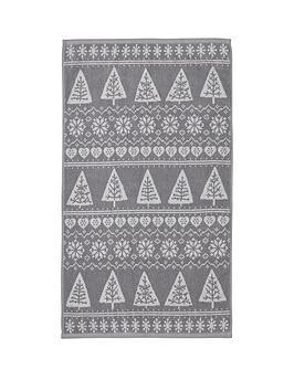 catherine-lansfield-nordic-trees-hand-towel
