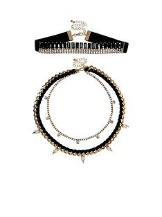 river-island-statement-spike-choker