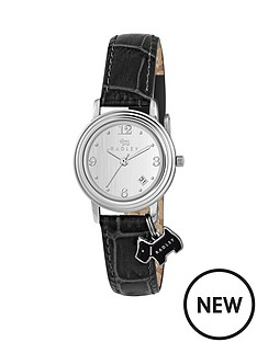radley-radley-darlington-white-dial-black-leather-strap-dog-charm-ladies-watch