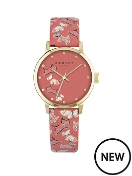 radley-radley-fleet-street-coral-dial-coral-dog-print-strap-ladies-watch