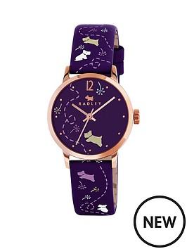 radley-radley-fleet-street-purple-dial-purple-dog-print-strap-ladies-watch