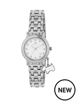 radley-radley-euston-link-white-dial-dog-charm-stainless-steel-bracelet-ladies-watch