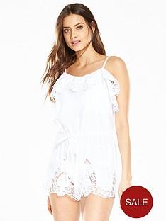 v-by-very-frill-crochet-beach-playsuitnbsp--white