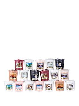 yankee-candle-18-piece-votive-collection-ndash-fresh-amp-clean