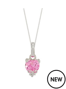 love-silver-sterling-silver-pink-cubic-zirconia-heart-shape-pendant