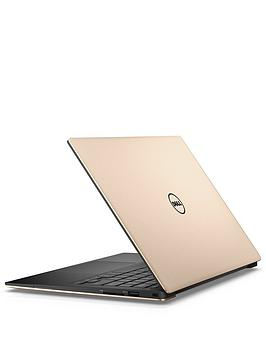 Dell Xps 13 With 13.3 Inch QhdTouch Infinityedge Display Intel&Reg Core&Trade I7 8Gb Ram 256Gb Ssd Laptop  Rose Gold