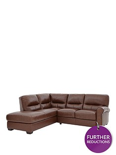 andrianbsppremium-leather-left-hand-corner-chaise-sofa