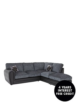 monico-right-hand-single-arm-standard-back-corner-chaise-sofa-footstool