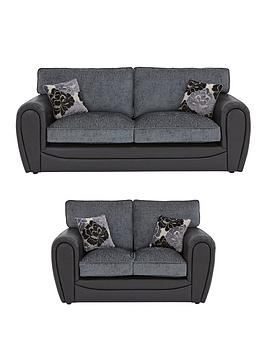 Very Monico 3 Seater + 2 Seater Standard Back Sofa Set (Buy And Save!) Picture