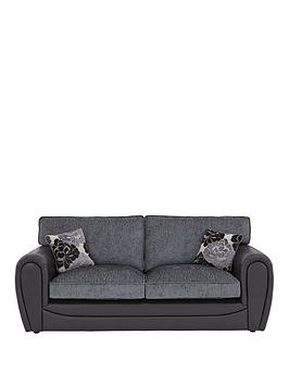 Very Monico 3 Seater Standard Back Sofa Picture