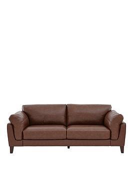 Studio 3Seater Premium Leather Sofa