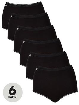 Playtex Playtex Pure Cotton 6 Pack Maxi Brief Picture
