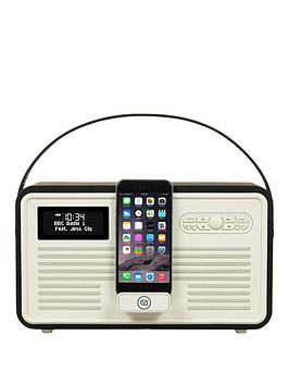 view-quest-retro-mkii-dab-bluetooth-wireless-radio-black