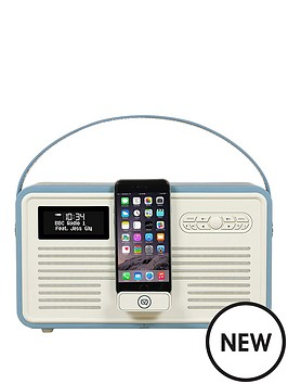 view-quest-retro-mkii-dab-bluetooth-wireless-radio-red