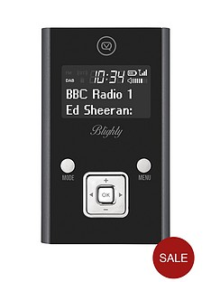 view-quest-blighty-dab-and-fm-pocket-portable-radio-black