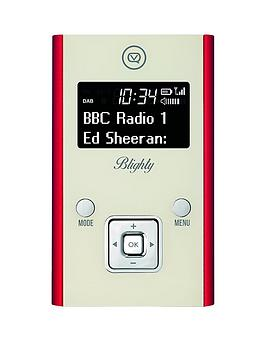 view-quest-blighty-dab-and-fm-pocket-portable-radio-red