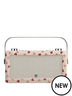 view-quest-hepburn-mkii-dab-radio-amp-bluetooth-wireless-speaker-emma-bridgewater-pink-hearts