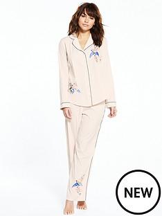 river-island-river-island-bird-embroidered-pj-shirt