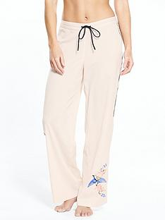 river-island-river-island-bird-embroidered-pj-trousers