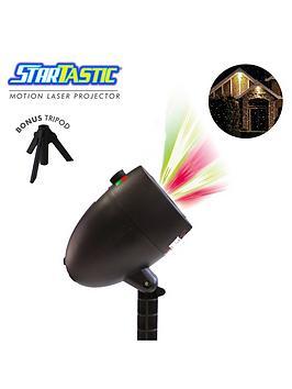 High Street Tv Startastic IndoorOutdoor Motion Laser Projector  Light