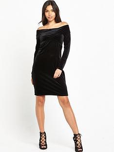 fashion-union-miami-velvet-dress