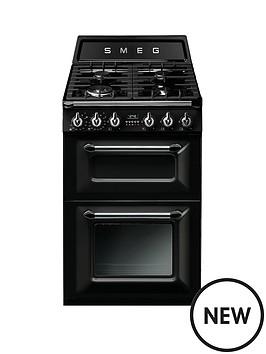 smeg-tr62blnbspvictorianbsp60cm-2-cavity-dual-fuel-mini-range-cooker