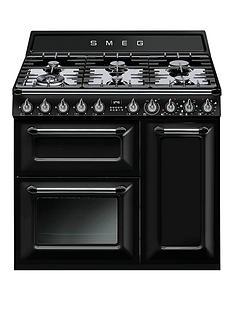 smeg-tr93blnbspvictorianbsp90cm-3-cavity-dual-fuel-range-cooker