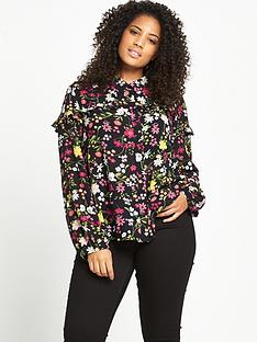 alice-you-floral-frill-blouse