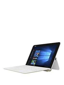 Asus Transformer T102Ha Intel&Reg Atom&Trade X5 Processor 4Gb Ram 64Gb Emmc Ssd 10 Inch Touchscreen 2In1 Laptop  WhiteGold
