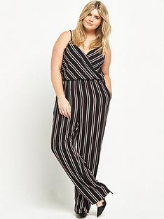 ax-paris-curve-strappy-jumpsuit