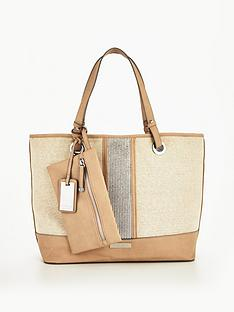 carvela-krypton-large-metallic-beach-bag