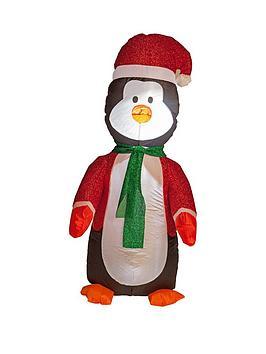 4ftnbspinflatable-glitter-light-up-penguin-indooroutdoor-christmas-decoration