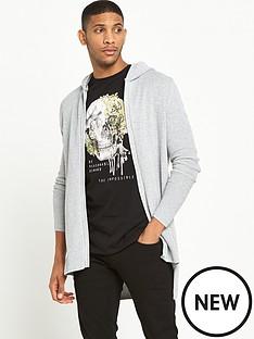 river-island-waffle-knit-longline-cardigan